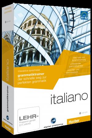 italienisch lernen grammatiktrainer italiano. Black Bedroom Furniture Sets. Home Design Ideas